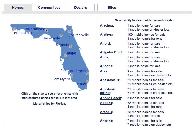 Florida Mobile Homes for Sale