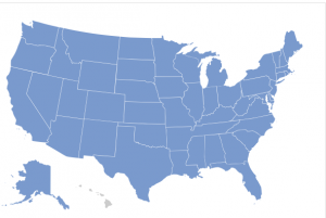 Map of the USA- for selling you mobile home