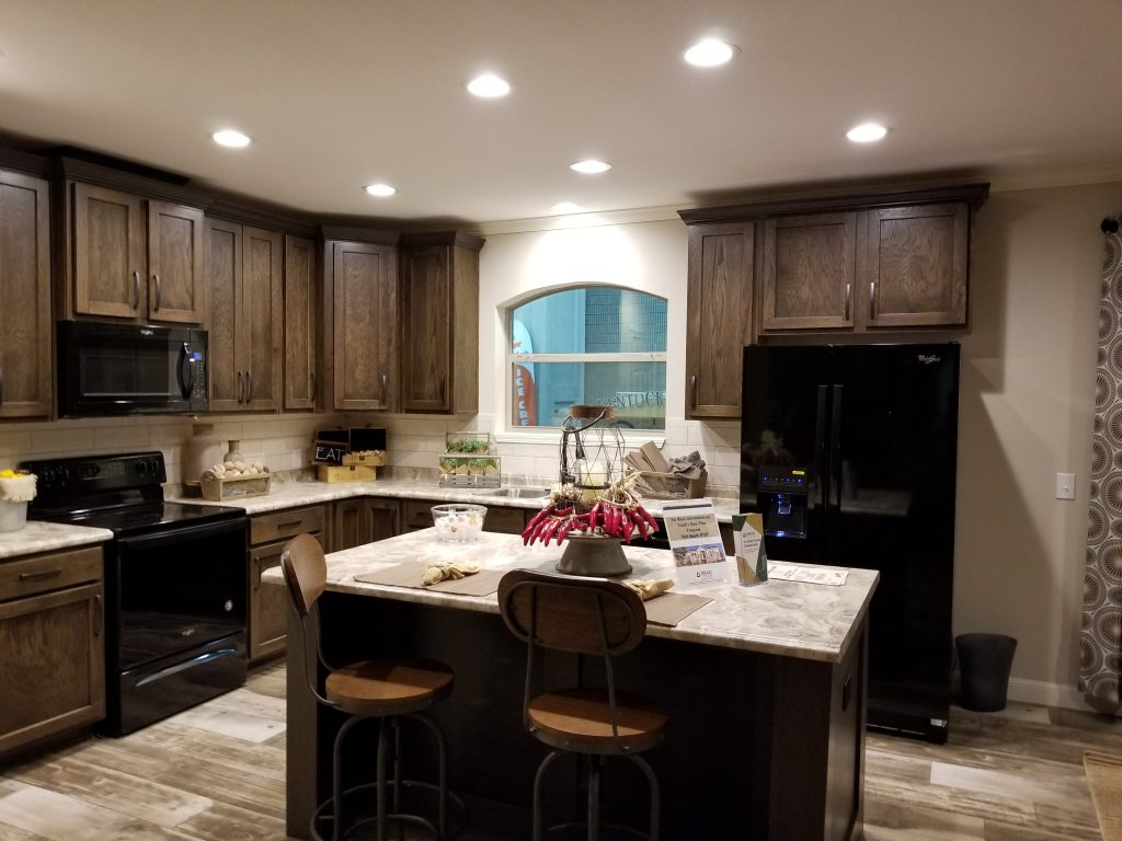 new home kitchen at the Louisville show
