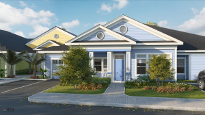 Home Rendering for The Floridian Club of Sarasota