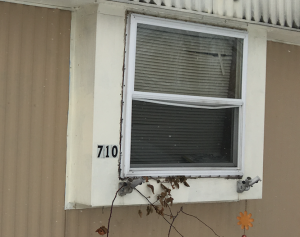 Mobile Home Window to be Replaced