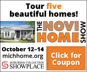 Tour 5 beautiful homes at the Novi Home Show October 12-14