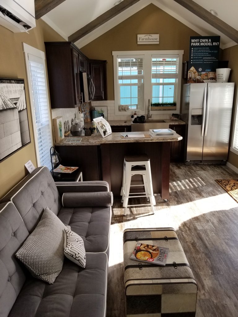 Toss a party in your tiny home
