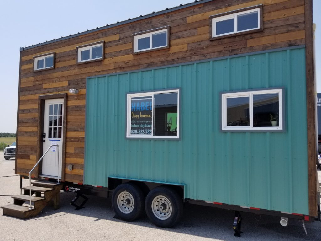The American Dream tiny home style