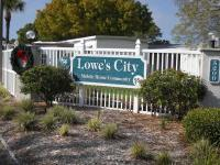 Lowe's City Mobile Home Community Dealer Logo