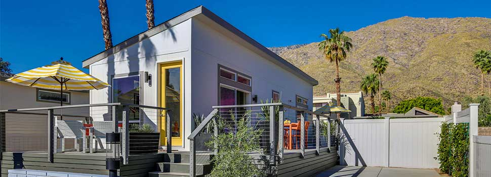 California Tiny Homes Occupy Former Palm Springs Mh Community
