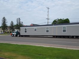 Moving a mobile home done right