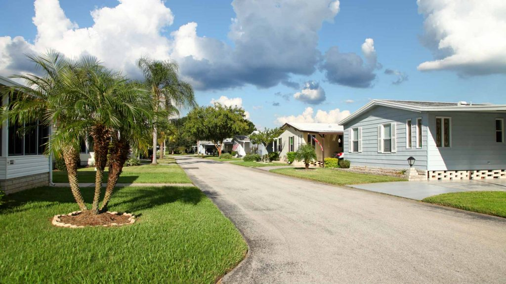 Renting a mobile home mobile home park