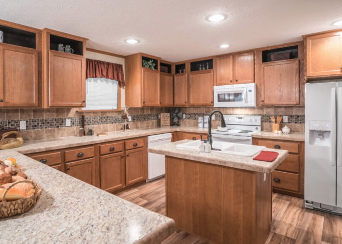 Luxury Mobile Home Kitchen by Legacy Homes