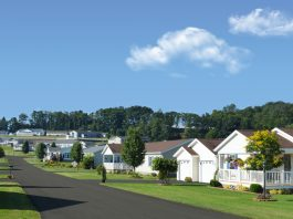 Rent out a mobile home neighborhood