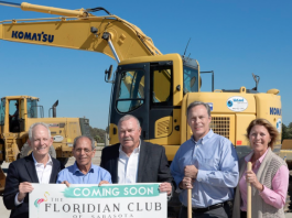 Groundbreaking for The Floridian Club of Sarasota