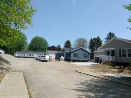 Development at a New Michigan Retirement Community