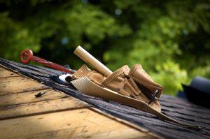 Asphalt shingle for mobile home roof repair
