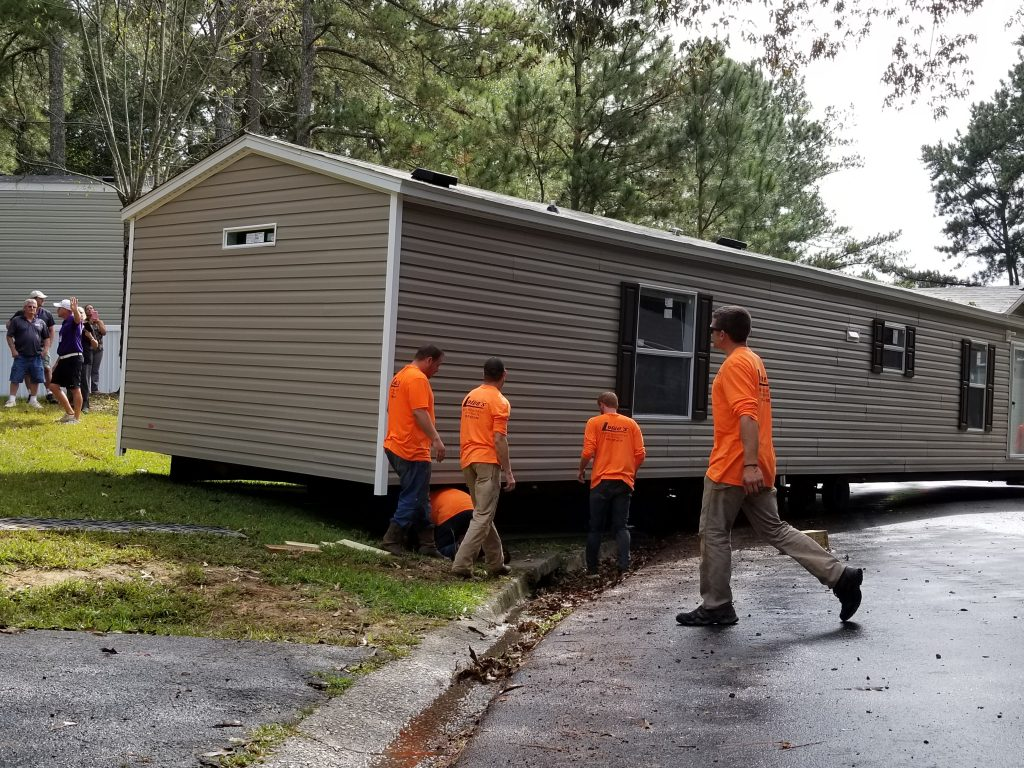 Moving a mobile home manufactured Home Installation