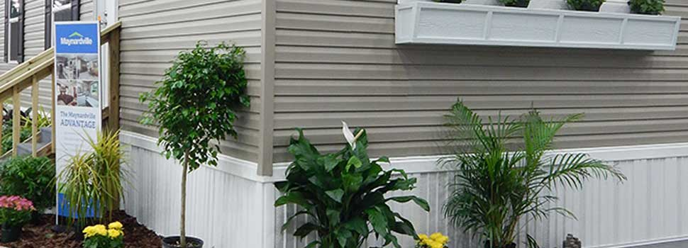 remodeling a mobile home exterior - mobile home skirting