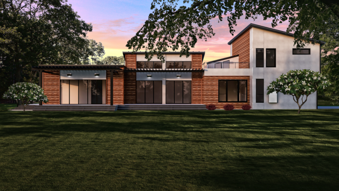 New modular construction to fit a variety of residential settings.