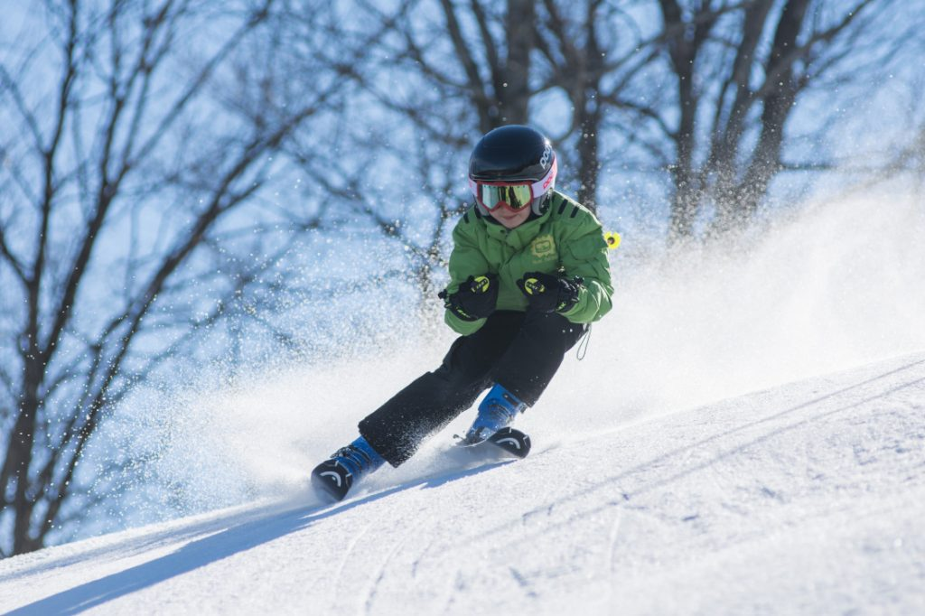 manufactured housing communities perfect for skiers boy on slopes