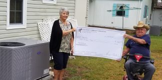 Veterans Assistance Fund Crocketts check