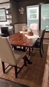 Sell a Mobile Home Fast dining room Hamilton Homebuilders