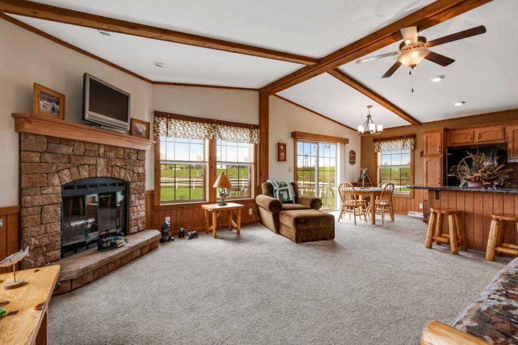 Lexington Skyline Mobile Home Living Interior