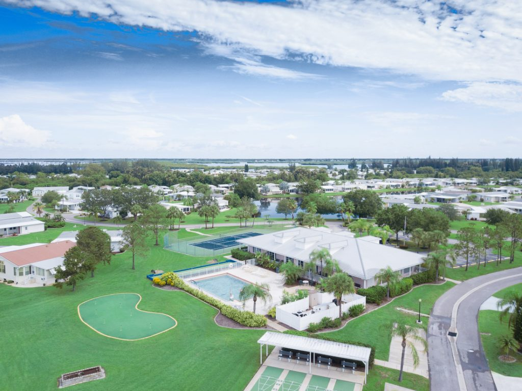 Types of Mobile Home Communities - Golf Community