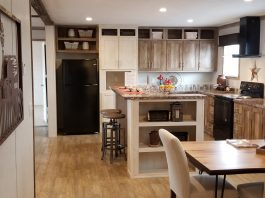 Life of a mobile home Champion Homes interior