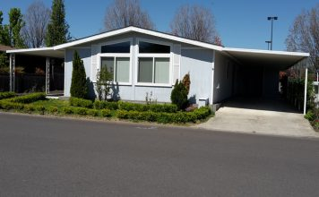 mobile home value carport