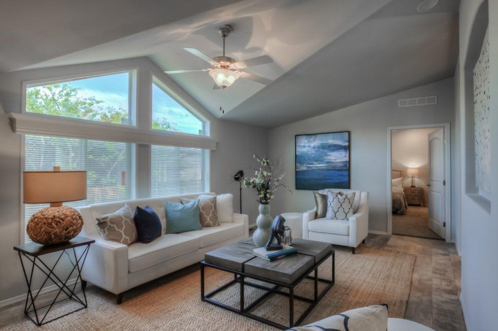 Skyline living area mobile home value