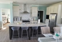 Open floor plan open house tips for manufactured home