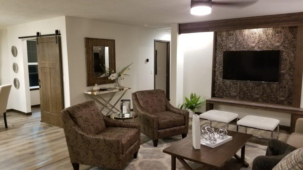 Living room possessions mobile home insurance