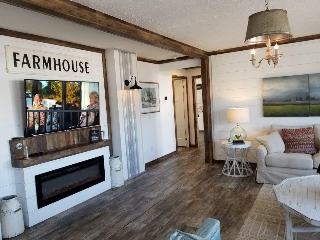 interior farmhouse Mobile Homes vs Site-Built Homes
