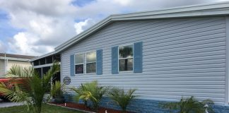 Michigan home exterior buy a used manufactured home today
