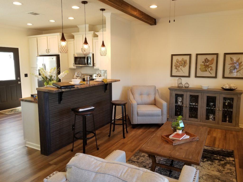 Mobile Homes vs Site-Built Homes interior Franklin Homes