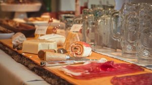 snacks and drinks manufactured home holiday party
