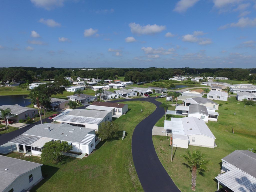is buying a mobile home a good investment community living