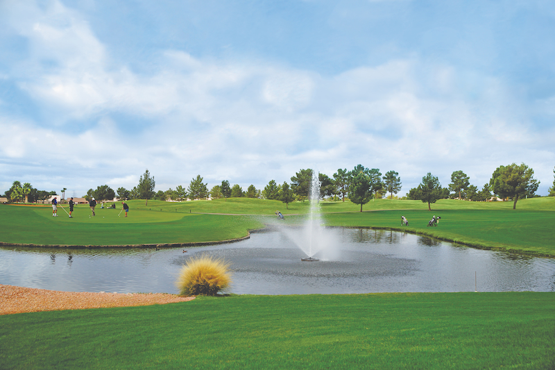 Vacation Mobile Home Community - Golf Course