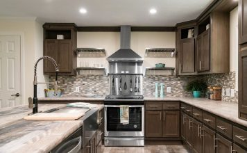 Modern Mobile Homes - Kitchen