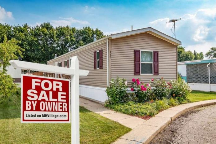 Sell manufactured home by owner