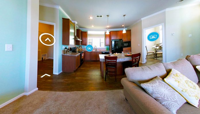 Example of a Virtual Tour on MHVillage