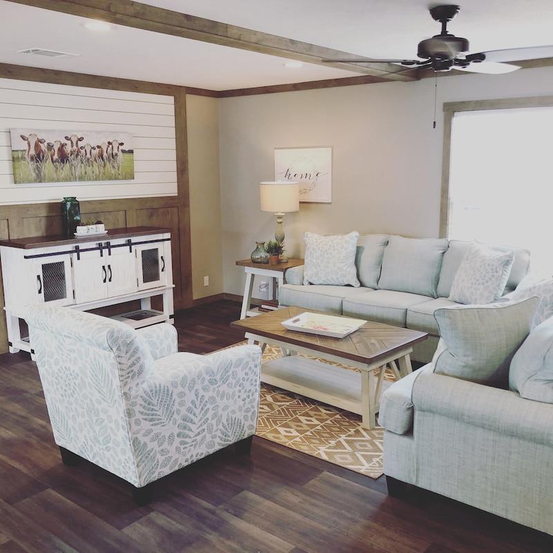 mobile home furniture living room sofa