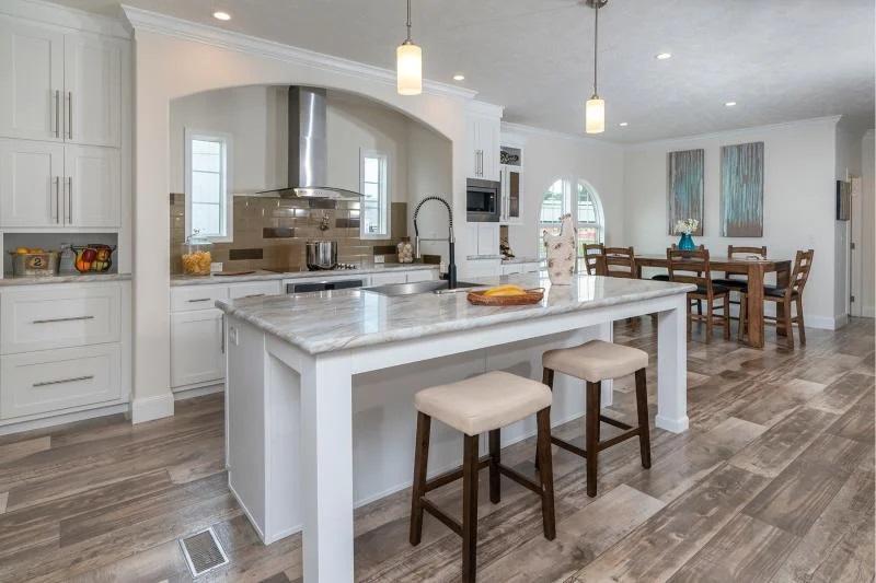 3 bedroom mobile home open kitchen