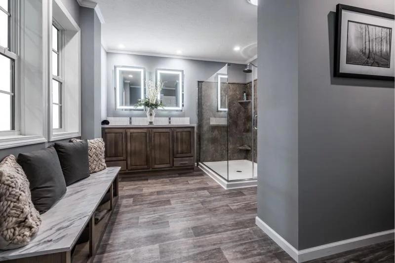 Fortune homes 3 bedroom master bath
