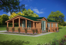 Cottage style mobile homes