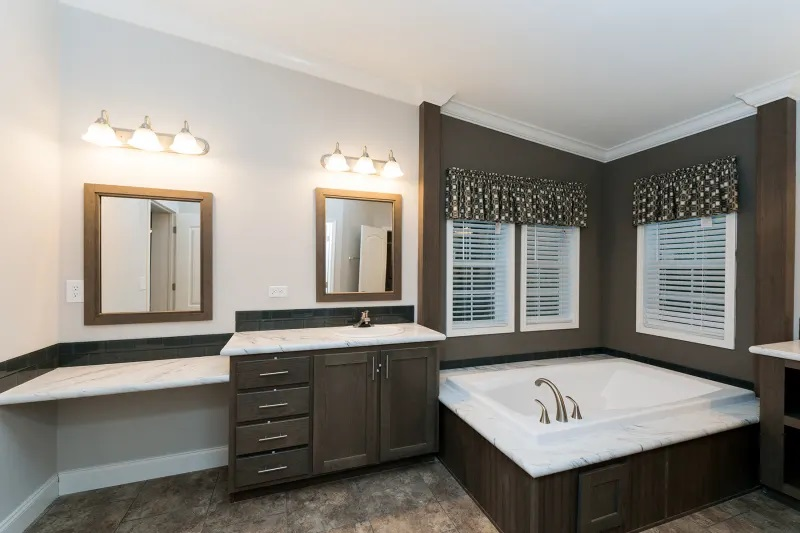4 bedroom mobile home master bath willow manor