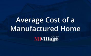 Average cost of a manufactured home