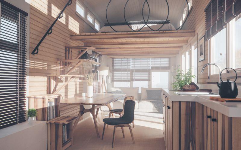 park model home interior