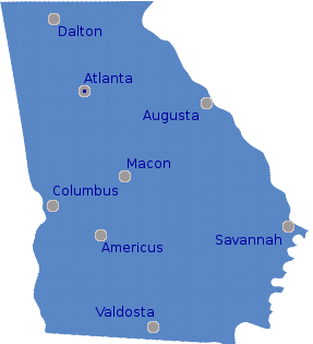 Mobile Homes For Sale In Georgia With Sold Recently - Georgia map valdosta