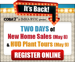 Register for 2 Days of New Home Sales and HUD Plant Tours