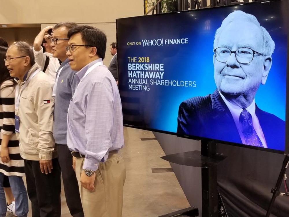 Kevin Clayton at Berkshire Hathaway investor meeting