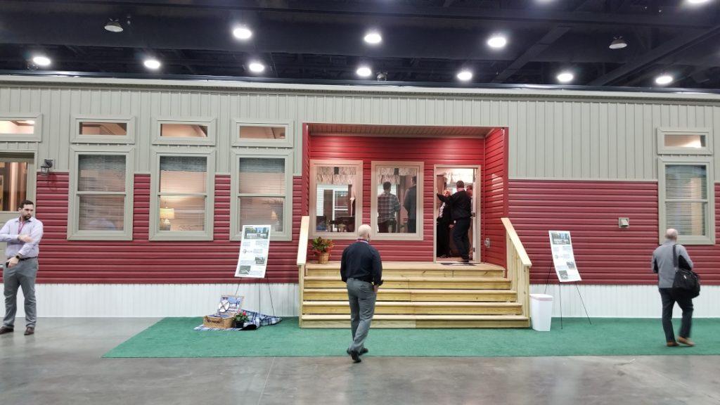 Louisville Show Attendance Model Home